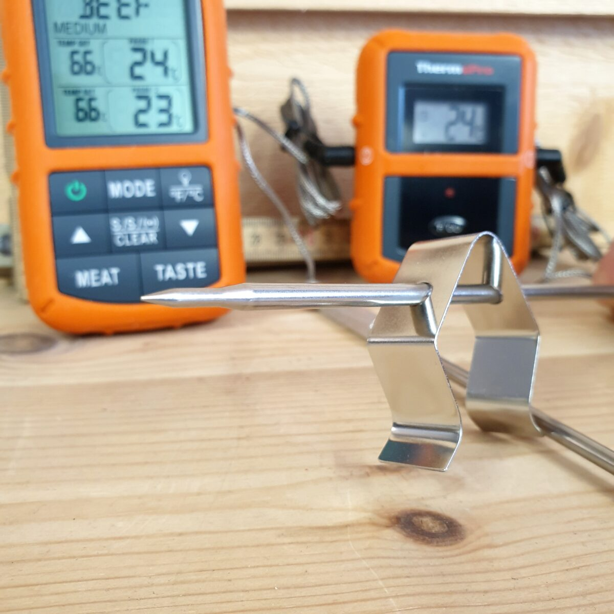 Trådlös Grill BBQ termometer Thermopro TP20 s med 2 givare