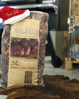 Pellets för pelletsmoker - Big game blend 15 kg - med 2xEk, Hickory och Rosmarin