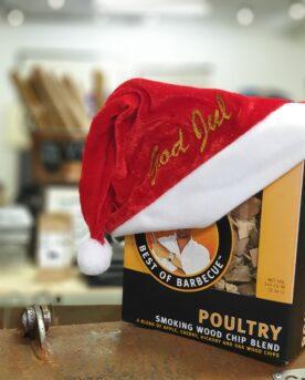 Rökflis - perfekt för JulskinkanRökspån, rökflis, wood chips, chunks, rökträ, rökved - Detta är en härlig mix av ÄPPLE, ek, hickory och körsbär.