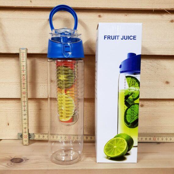Tritan vattenflaska med frukt infuser gör ditt eget smaksatta vatten