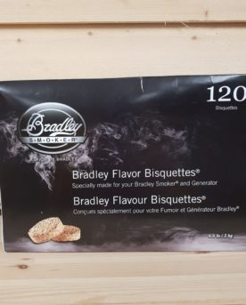Bradley Briketter Al 120 pack