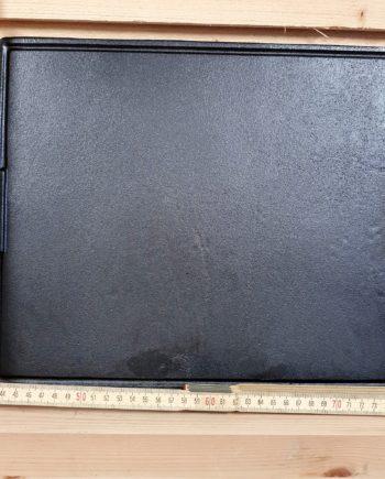 Stekplatta, gjutjärns stekbord, Stekbord i gjutjärn är helt universellt för grillar över 46 cm i diameter