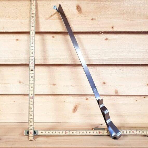 Grillspett 2cm brett och 44cm långt platt spett - perfekt för Pichana