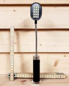 Grillampa, Grill-lampa, Lampa för grillen, LED Lampa, Svanhals, Magnetfäste, Magnetfot, Smidig LED Lampa, Batteridriven