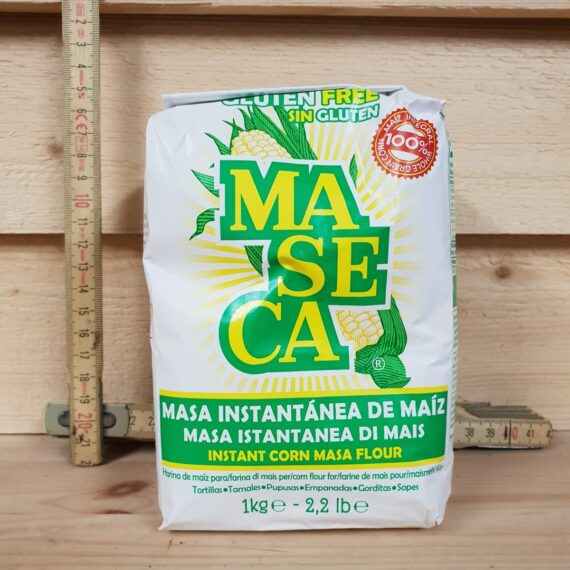 VItt majs mjöl Masa Harina för att göra egna Tortillas Baka med vitt majsmjöl göra tortillas