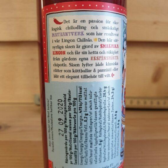 En mild och välsmakande chilisås som passar både till BBQ och husmanskost