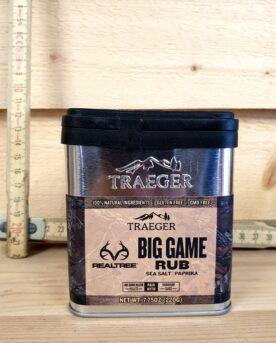 """Traeger BBQ Rub """"Big Game Rub"""" är en rub som passar det mesta som sätts i dess väg - gris, vilt eller nöt!"""