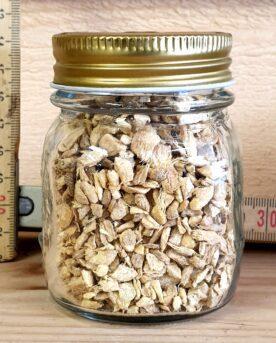 citruston och friskhet. Du kan även använda bitar av torkad ingefära för att göra en het dryck, likt te eller som smaksättare till en Gin & Tonic!