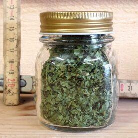 Kryddor & Örter i glasburk med stor öppning - Ramslök - gör din egen kryddbar