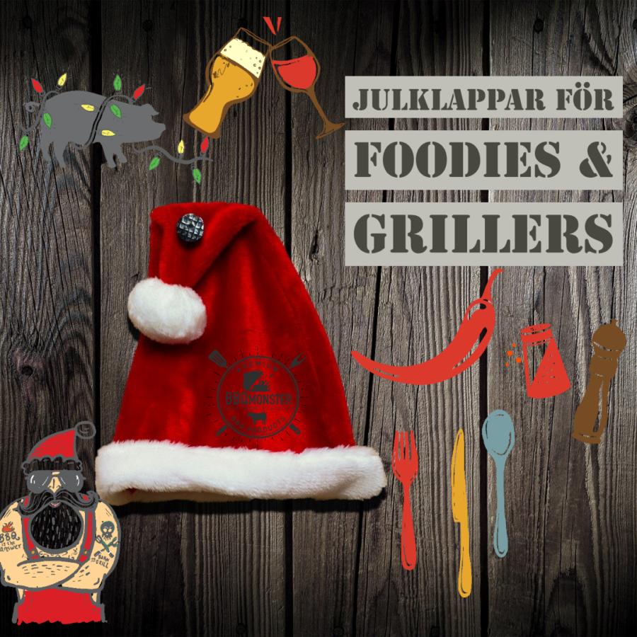 Prylarna du behöver för julstöket och klapparna du önskar dig som foodie och griller