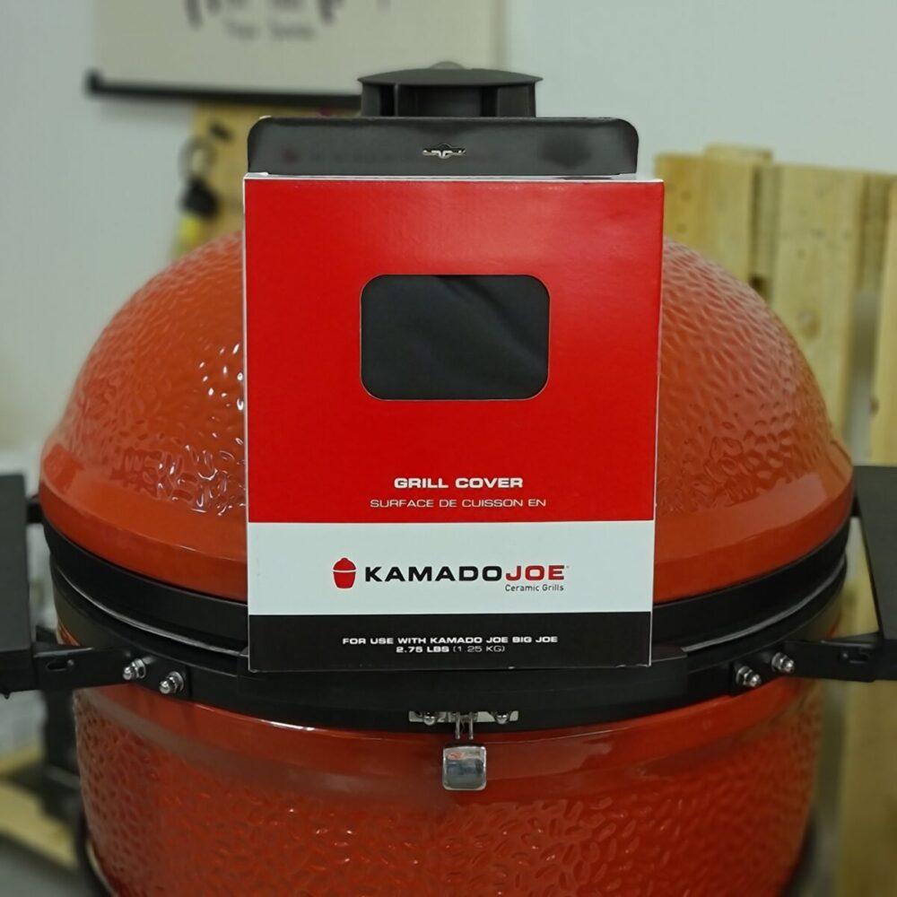 Regnskydd väderskydd till kamado big joe 61cm kamado men även lämpligt för classic joe och andra 47cm kamados