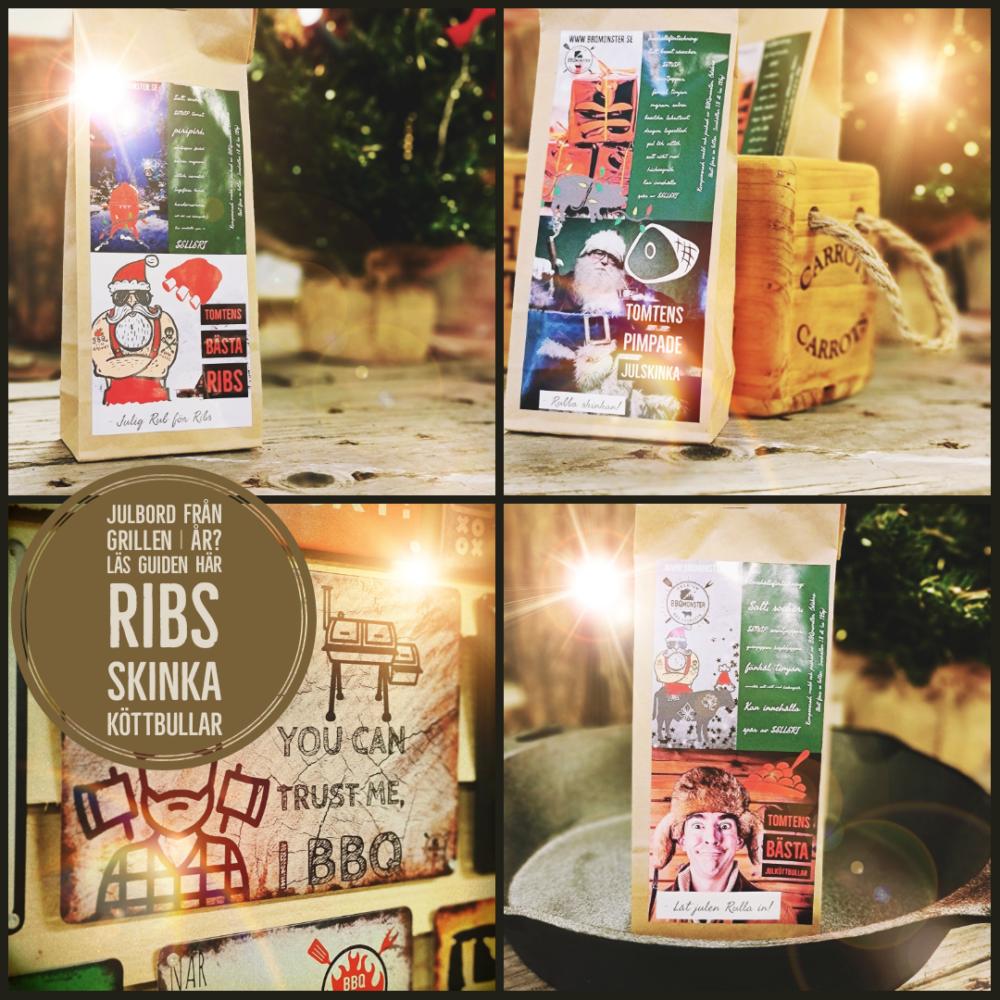 Godaste julbordet fixar från grillen och BBQmonster har kryddblandningarna för julrevben julskinka och julköttbullar. Här hittar du såklart alla såser senap och de prylar du behöver för att lyckas. Julklappar för LIVSNJUTARE hittar du här