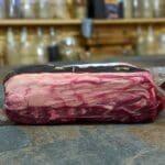 Wagyu ryggbiff en magisk köttbit från australien med fettkappa och fin marmorering