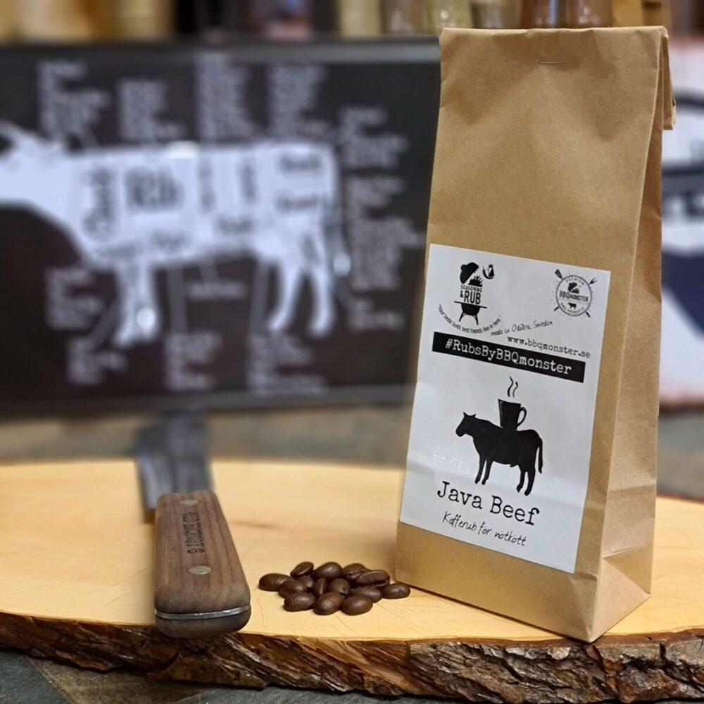 Java beef är en kryddblandning en rub för nötkött som innehåller kaffe passar allt från entrecote till brisket
