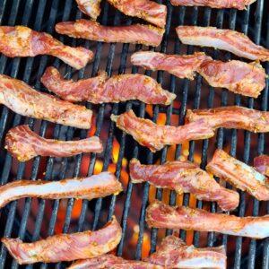 Ribfingers iberico är en köttdetalj från den spanska rasen och är köttet som sitter mellan revbenen perfekt för grillning och burnt ends